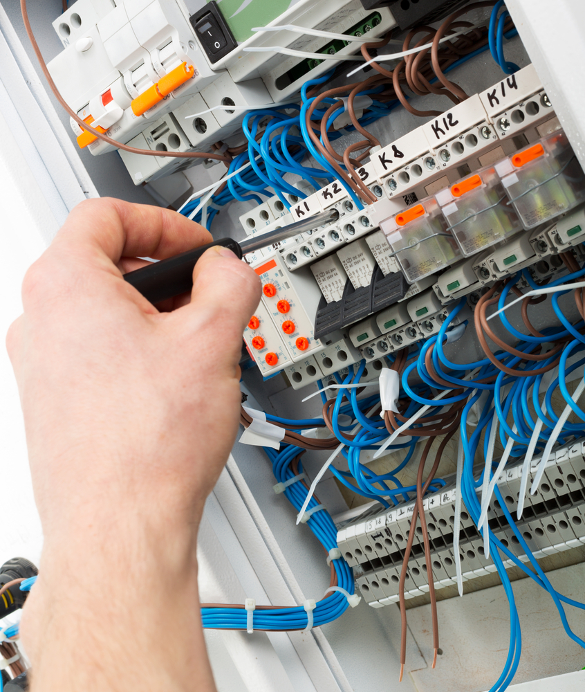 Possible Hazards To Be Aware Of With Electrical Boxes Wc Mcbride Wiring Circuit Box You Should Where The Breaker In Your House Is Located This Central Grid All Comes Together